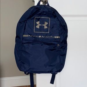 Navy Blue Under Armour backpack